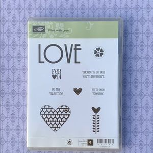 ❤️Filled With Love StampinUp! Clear Mount (9)